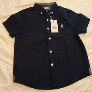 New with tags Original Penguin boys dress shirt